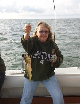 Michigan Perch Fishing Charters