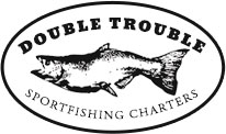 Double Trouble Sportfishing Charters, LLC Logo
